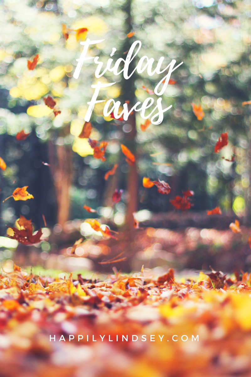 Friday Faves 10.7.16