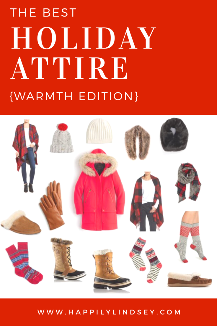 The Best Holiday Attire // Warmth Edition