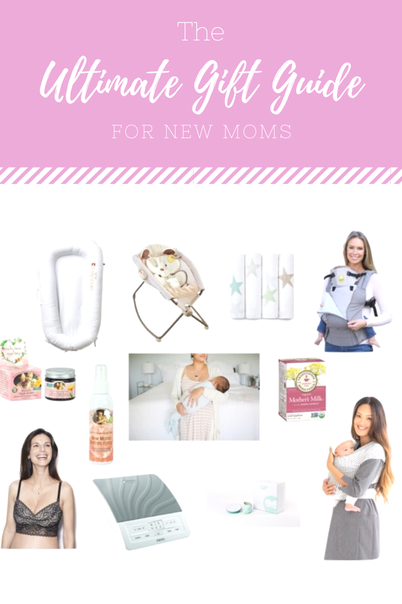 The Ultimate Gift Guide for New Moms // Happily Lindsey blog
