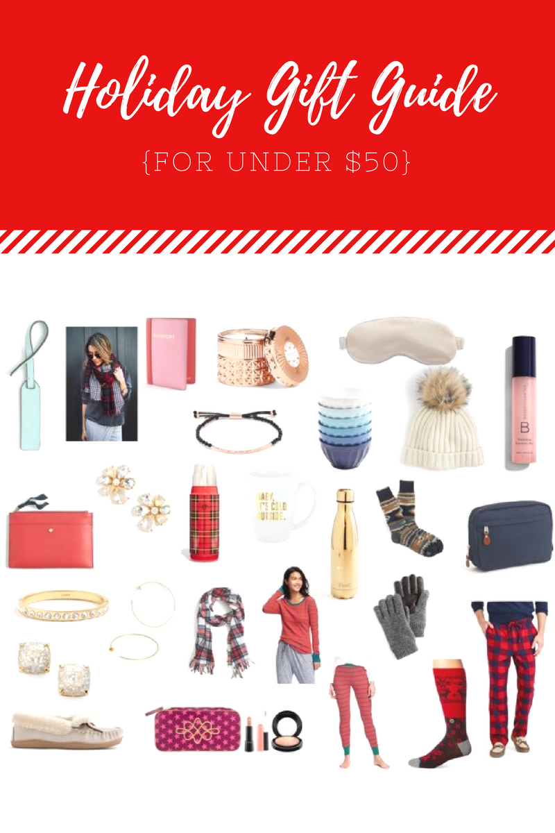 the best gift ideas for under $50 // holiday gift guide {Happily Lindsey blog}