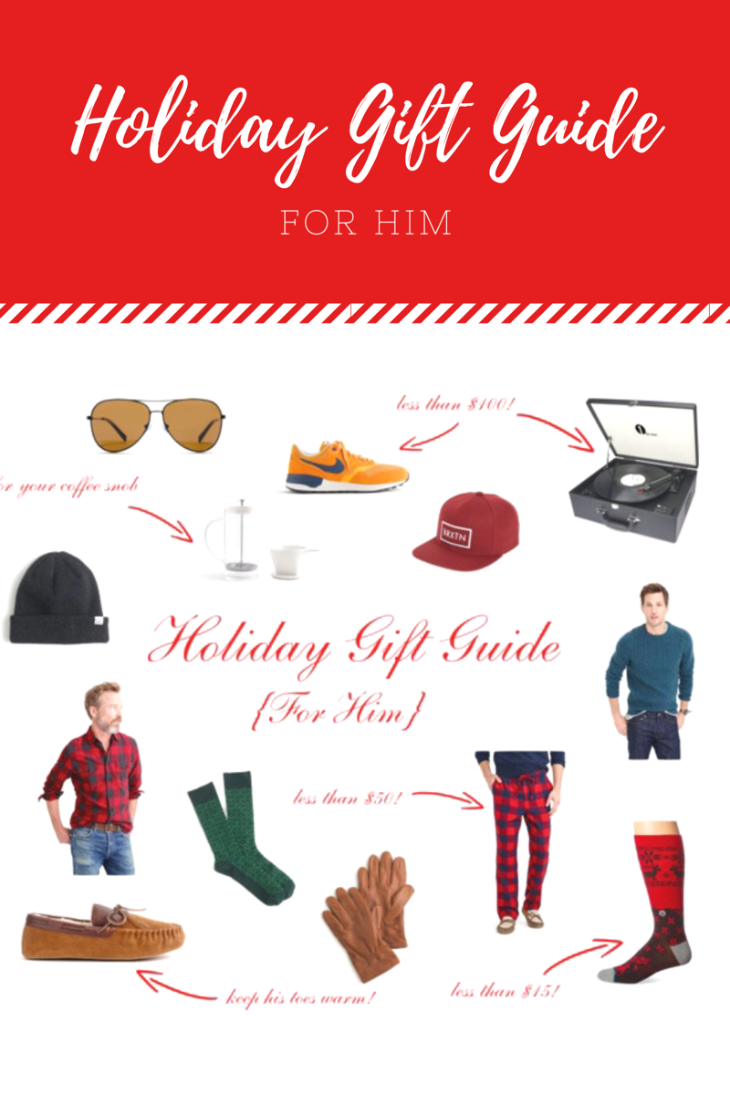 Holiday Gift Guide for Men // Happily Lindsey blog