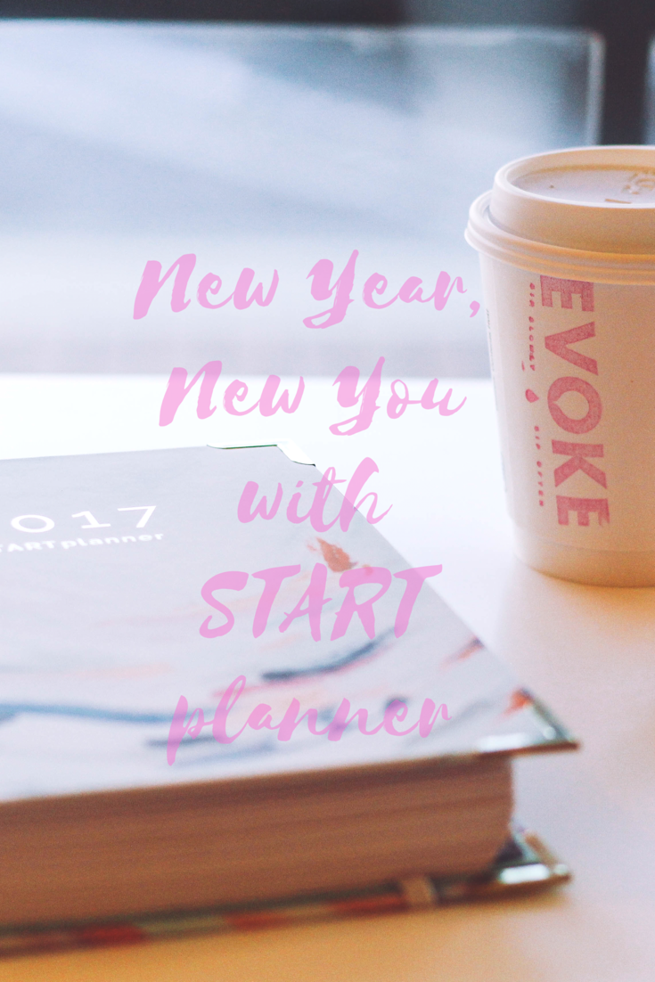 Thought on 2016 & the New Year + START Planer Giveaway // Happily Lindsey blog